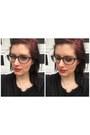 Black-zenni-optical-glasses-white-kendra-scott-necklace