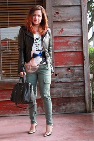 dior shoes - balenciaga jacket - Alexander Wang bag - J Brand pants
