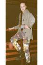 Light-brown-floral-cavalli-jeans