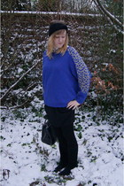 Babassu Fashion sweater - gemo boots - Pimkie hat - La Redoute skirt