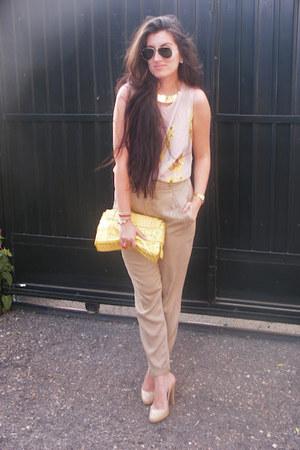 Primark shirt - Zara pants - suiteblanco heels