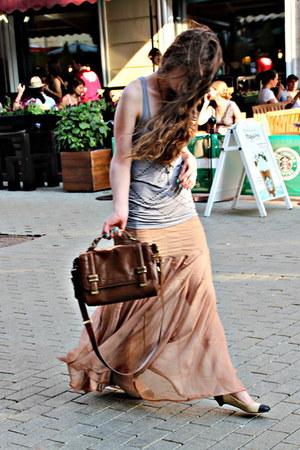 nude silk asoscom skirt