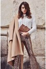 White-kitten-heel-asos-shoes-camel-imperial-fashion-coat