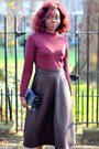 Silver-h-m-boots-maroon-primark-top-crimson-asos-skirt