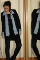 Dorothy Perkins blazer - Jorli shirt - internationale top