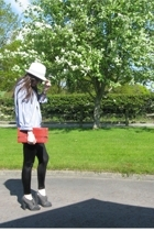 Gap shirt - Primark hat - dunnes stores accessories - Topshop shoes