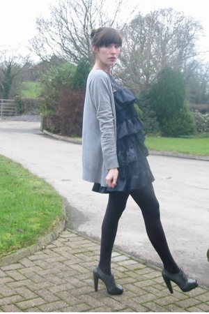 new look - Primark dress - Topshop shoes