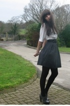 Topshop top - warehouse skirt - Topshop shoes