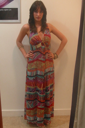 Debenhams dress - River Island shoes