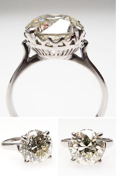 Antique Engagement Rings Quot 1920 S Art Deco Engagement