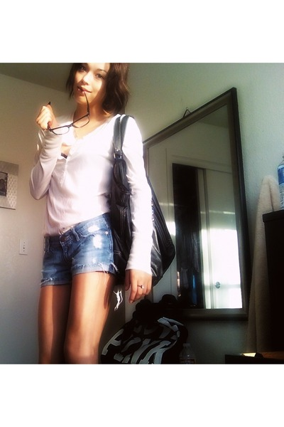Target purse - abercrombie and fitch shorts - Target sunglasses - abercrombie an