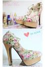 Bubble-gum-floral-heels