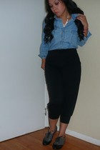Urban Outfitters pants - Forever 21 shoes - Urban Outfitters shirt - thrifted ac