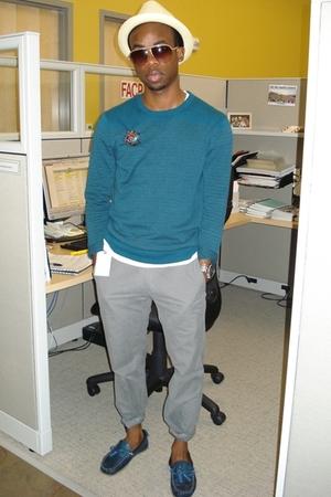 banana republic sweater - Gap pants - Narrative shoes - Michael Kors accessories