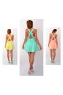 Yellow-mosquito-dress-light-blue-mosquito-dress