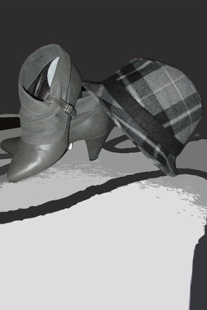 pull&bear shoes - H&M hat