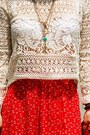 Bronze-vintage-buffalo-boots-off-white-crochet-h-m-top-red-c-a-skirt