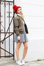 Olive-green-bomber-c-a-jacket-black-forever-21-skirt-white-zara-sneakers