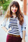 Navy-stripes-c-a-t-shirt-light-blue-stripes-cadena-blazer