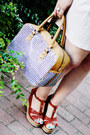 Orange-neon-thecoloris-top-periwinkle-parfois-bag