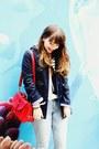 White-stripes-romwe-sweater-navy-primark-coat-periwinkle-lanidor-jeans