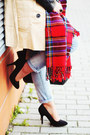 Cream-trench-romwe-coat-periwinkle-lanidor-jeans-white-stripes-romwe-sweater