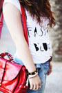 White-fashion-blogger-primark-t-shirt-light-blue-lanidor-jeans