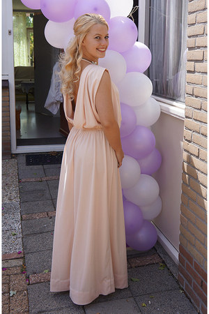 peach maxi H&M Trend dress