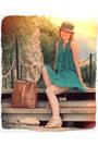 Vintage-hat-unknown-sandals-aquamarine-primark-top