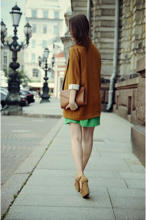 burnt orange Zara blazer