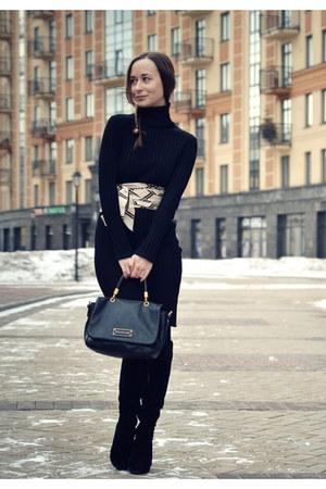 black Love Republic dress - black Marc by Marc Jacobs bag