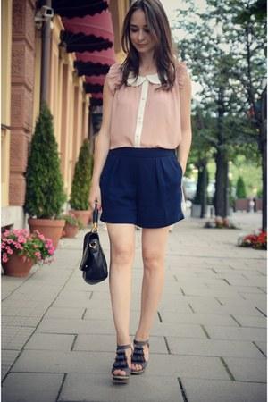 pink VANCL shirt
