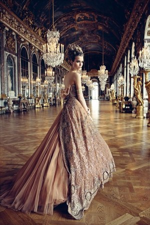 haute couture dress