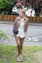 Steve Madden shoes - Chanel bag - Zara pants