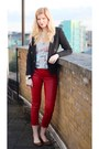 New-look-blazer-new-look-top-marc-jacobs-necklace-leather-zara-pants