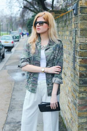 Topshop jacket - Marc Jacobs bag - Celine sunglasses