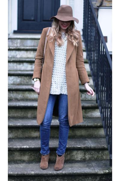 Report boots - Zara coat - Michael Kors bag