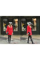 Zara boots - Mango coat - Chanel bag