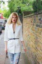 Zara jeans - Zara jacket - Celine sunglasses