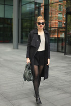 Stella McCartney jumper - River Island coat - Celine sunglasses