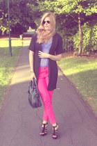 Zara jeans - Aldo shoes - balenciaga bag - Gap top