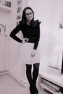 H-m-trend-dress-with-ruffles-h-m-sweater-london-rebel-wedges