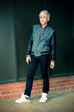 H&M shirt - River Island jacket - H&M jeans - Unlimited shoes