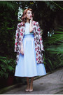 Sense-coat-sky-blue-coast-skirt