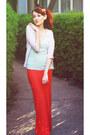 Aquamarine-h-m-shirt-orange-kittenhood-accessories
