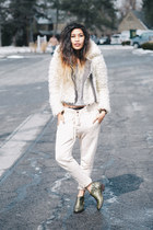 faux fur free people jacket