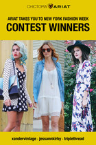 Ariat Takes You to New York Fashion Week Contest Winners