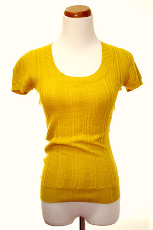 yellow Forever 21 shirt