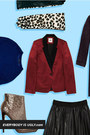 Brick-red-asos-blazer