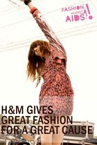 H&M Gives Great Fashion for a Great Cause!